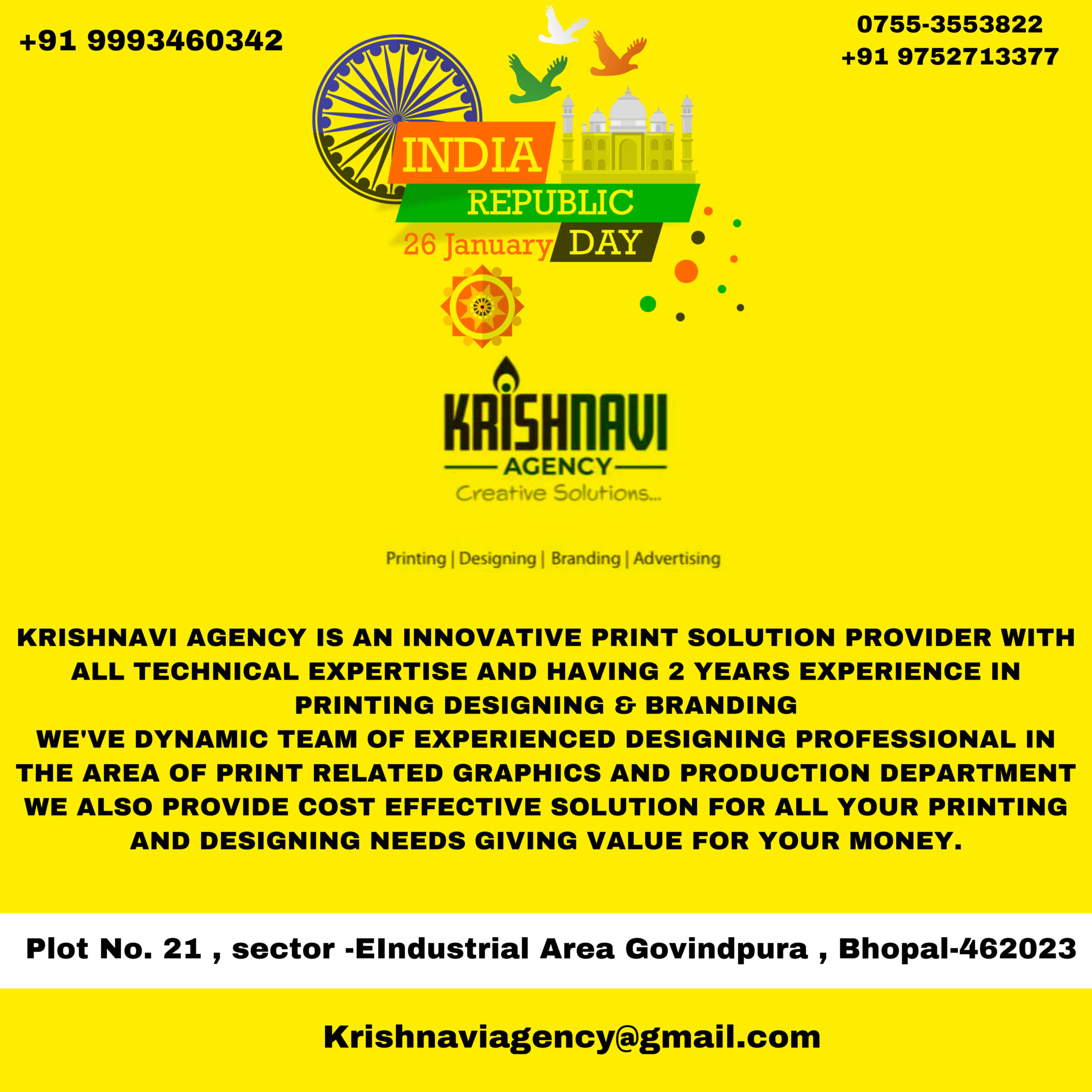KRISHNAVI AGENCY Creative Solutions